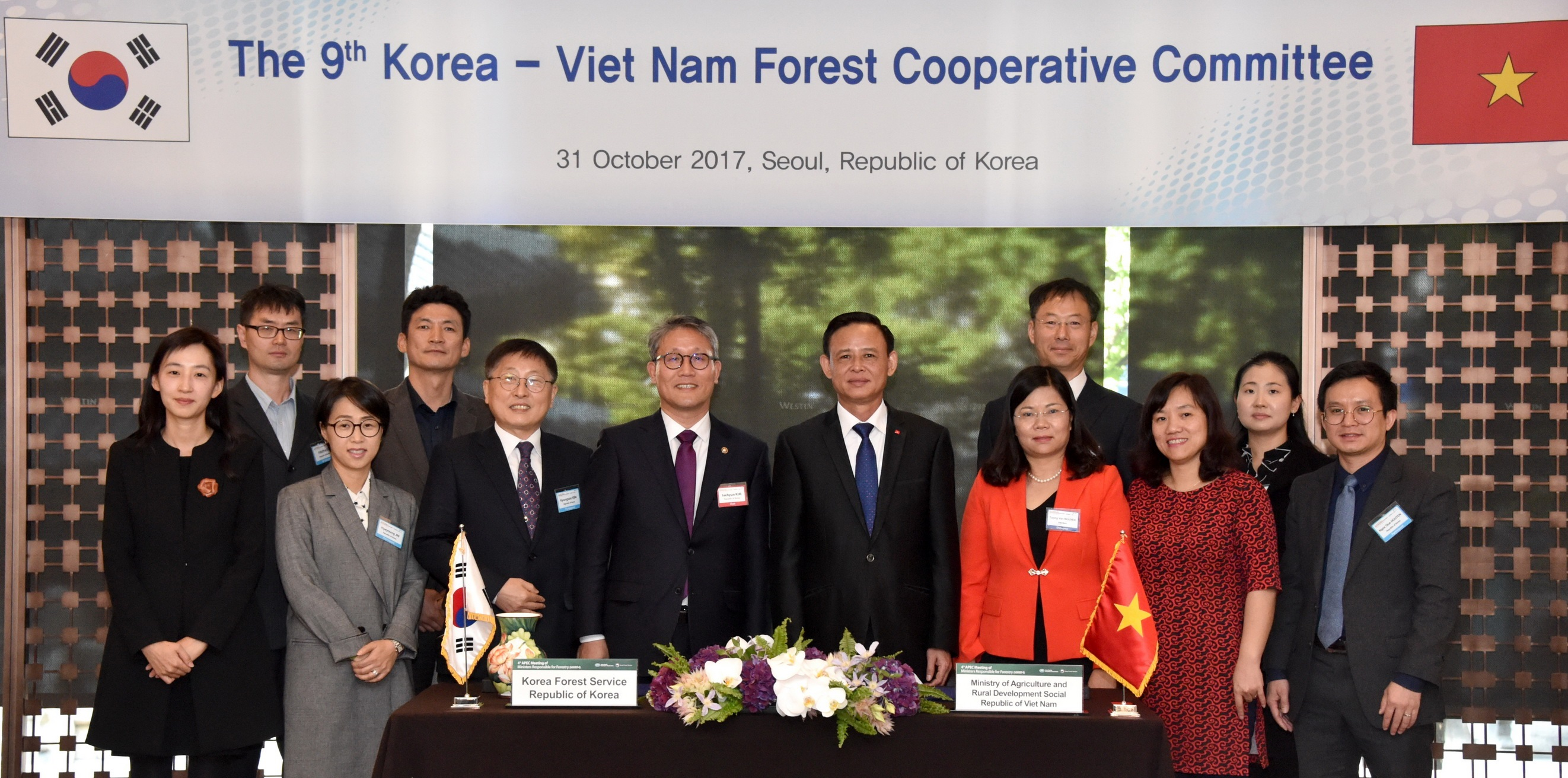 9th Korea-Viet Nam Forest Cooperative Committee