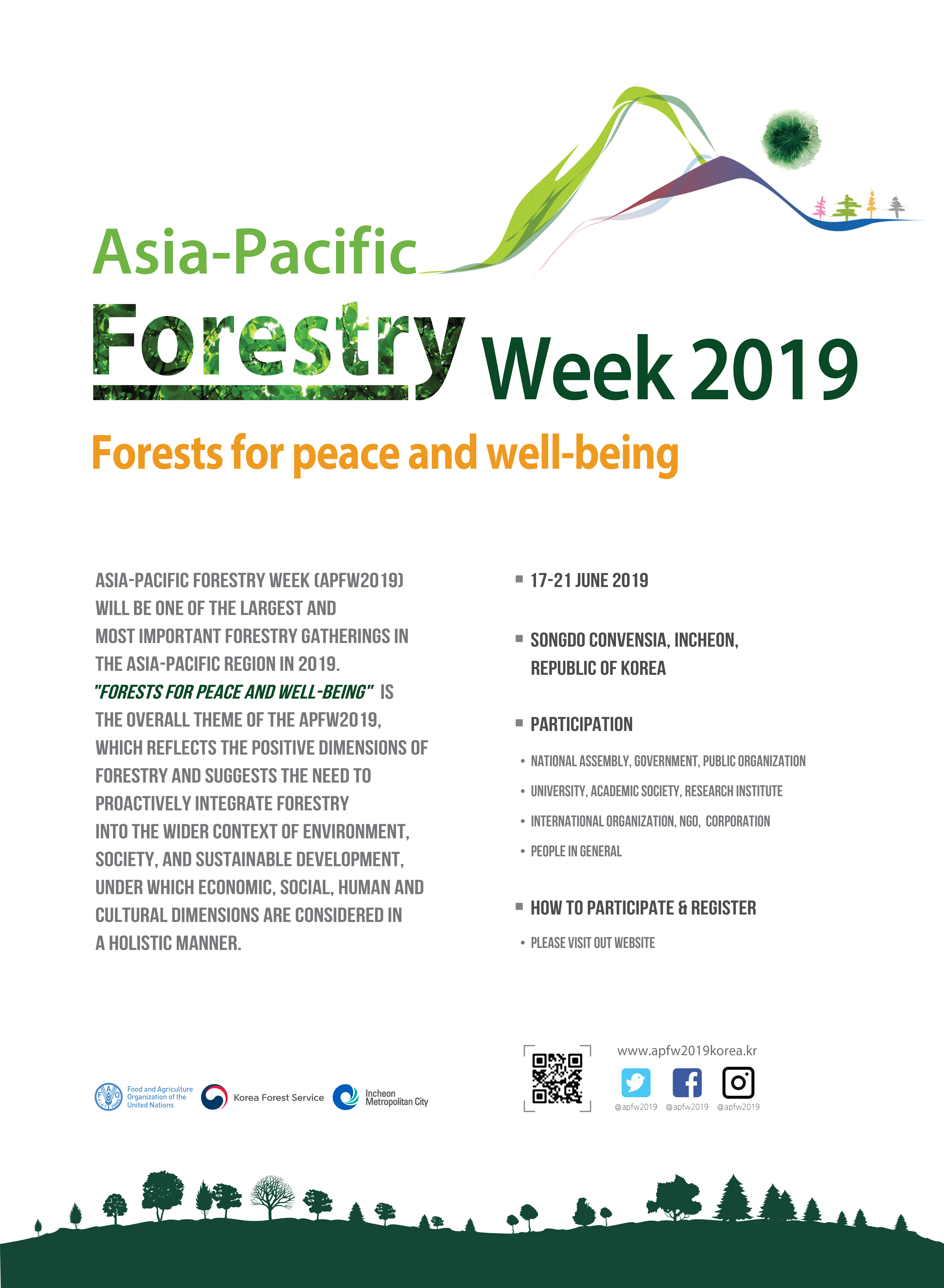 KFS hosts the 4th Asia-Pacific Forestry Week