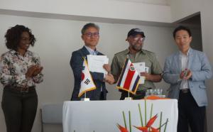 KFS Miniser signed a MOU with Costa Rica