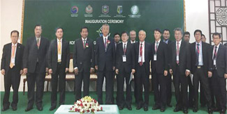 Opening Ceremony of Korea-Mekong Forest Cooperation Center