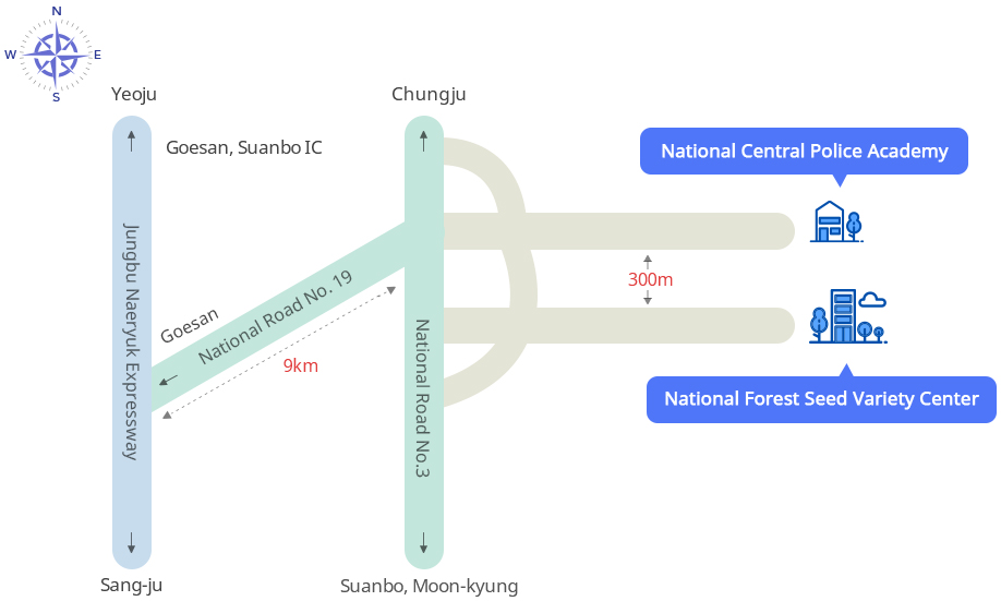 Central Office Map