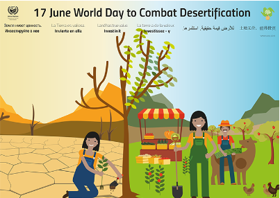 Celebration of the 2018 World Day to Combat Desert 이미지